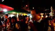 Sunday night market walking street video