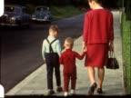 Sunday walk (vintage 8 mm film) video