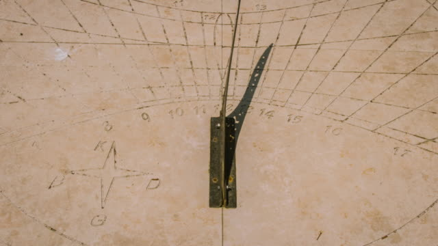 Sundial Time Lapse video