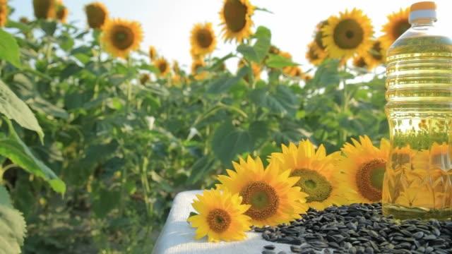 HD Sunflower oil video