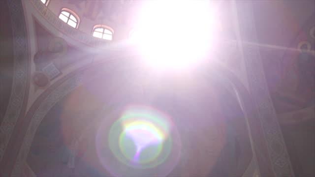 Sunlit Church Dome video