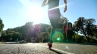 Sunny running video
