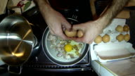 Sunny Side Up Eggs With Bacon video