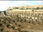 Sunny Valley below the Wall of Jerusalem video