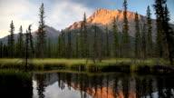 Sunrise Alpenglow PAN video