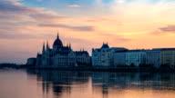 Sunrise at Budapest, Hungary video