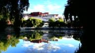 Sunrise at the Potala Palace video