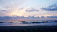 Sunrise in Melbourne Beach, Florida video