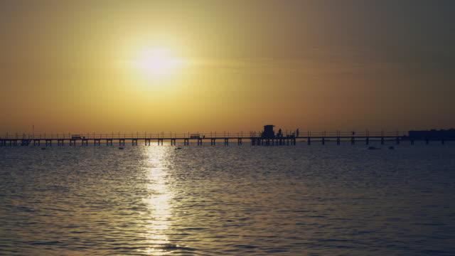 Sunrise in the Indian Ocean video