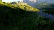 Sunrise in the Swiss Alps video