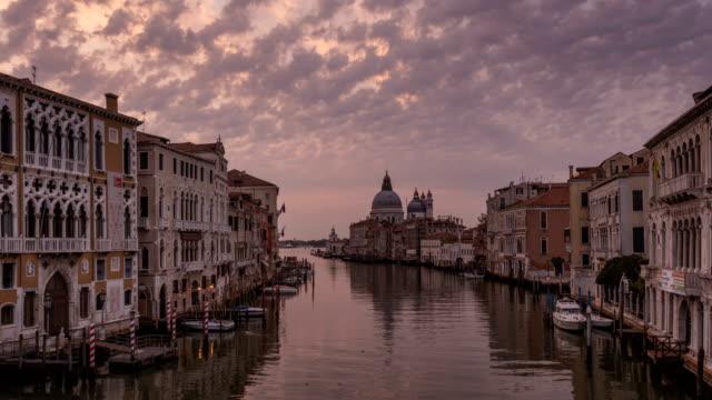 Sunrise in Venice, Italy video