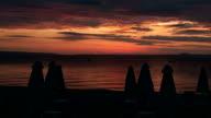 sunrise on the beach video