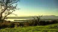 Sunrise over a lake / Starnberger See video