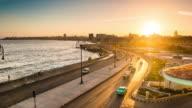 Sunrise Over Havana's Malecon Cuba video