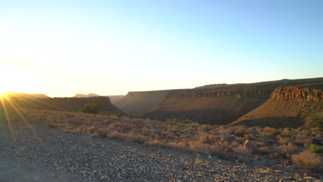 Sunrise over Karoo National Park, Cape Province, South Africa video