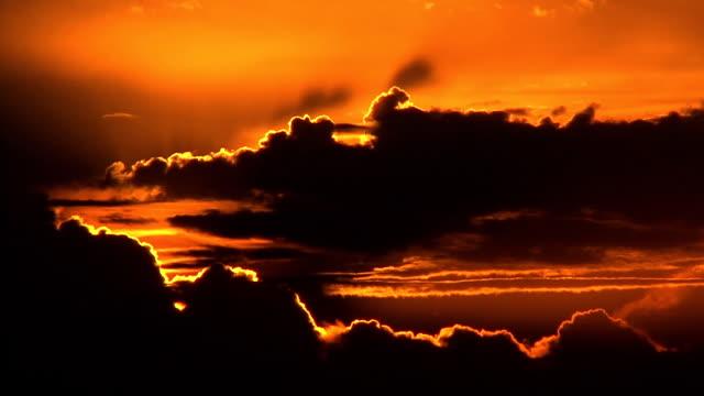 Sunrise over Kwazulu natal video