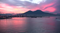 Sunrise over mountain video