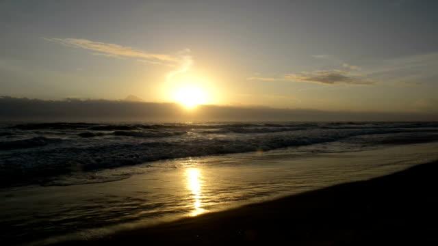 Sunrise over Surfer Paradise Beach video