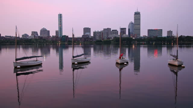 Sunrise over the Charles River video