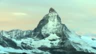 T/L Sunrise over the Matterhorn video