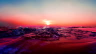 Sunrise over the Sea. video