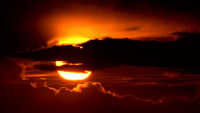 Sunrise over zululand video
