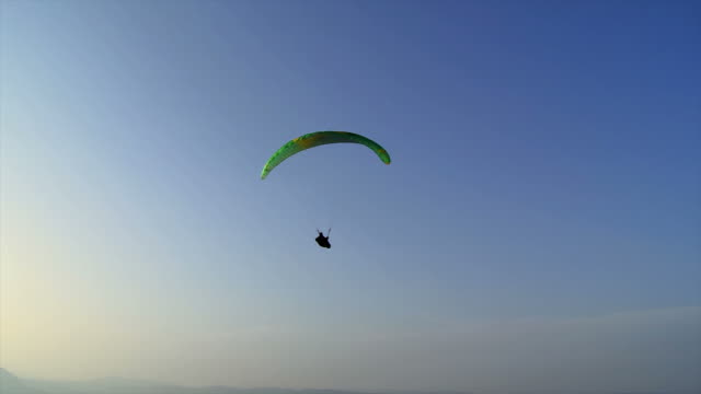 HD: Sunrise Paragliding video