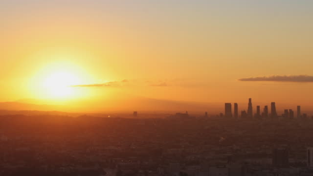 LA Sunrise Time Lapse video