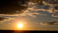 Sunrise Time-Lapse Clouds Dawn video