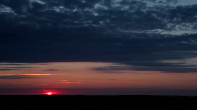 Sunrise timelapse (wide) video