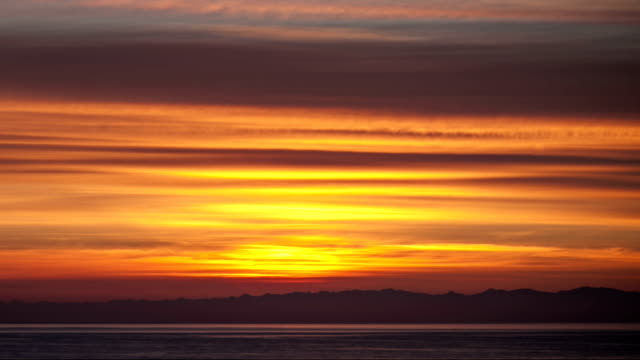 Sunrise time-lapse. video