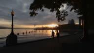 Sunrise Walk, Coal Harbor, Vancouver video