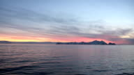 Sunset and Sunrise in Antarctica video
