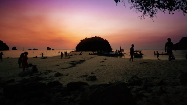 Sunset at Krabi video