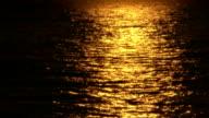 sunset at sea video