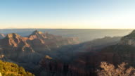 Sunset at the Grand Canyon video