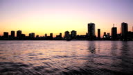 Sunset at Tokyo Bay video