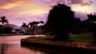 Sunset background video