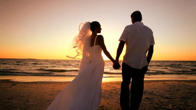Sunset Beach Wedding video