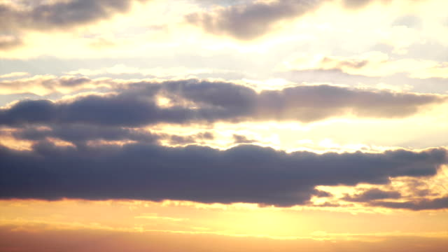 Sunset Behind The Clouds video