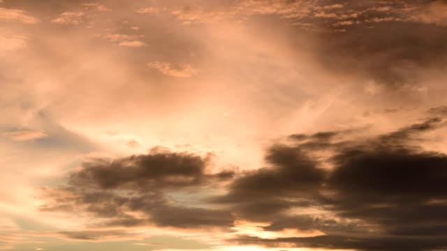 Sunset glow translation dusk sky 4K Time Lapse Video video