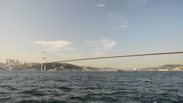 Sunset hours in Bosphorus video