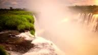 Sunset Iguazu Falls video