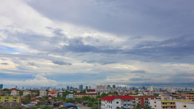 Sunset In Bangkok City video