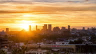 Sunset in Los Angeles video
