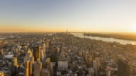 Sunset in New York City video