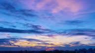 Sunset In Town III TL 4K II video