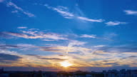 Sunset In Town III TL 4K video