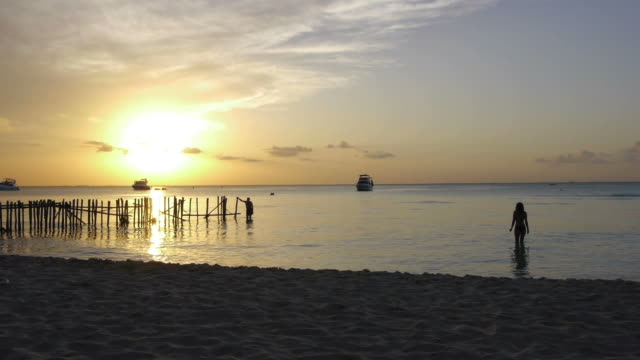 Sunset Isla Mujeres video