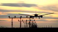 Sunset Jet Lands, Vancouver video